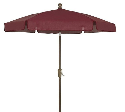 Image of Fiberbuilt Patio Umbrella Home Collection Garden 7.5 Ft - 7GCRW