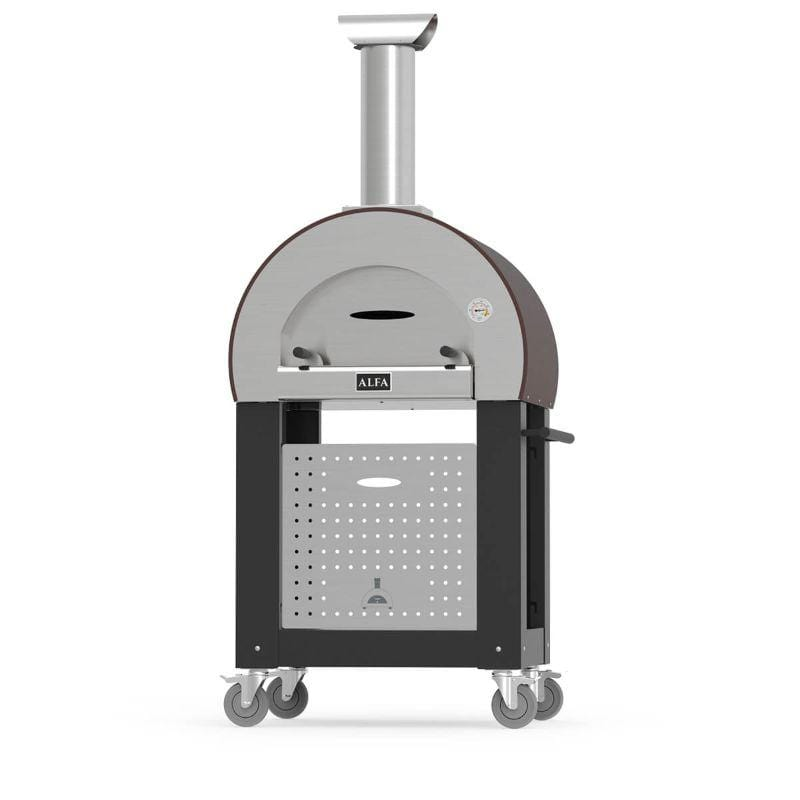 Alfa 5 MINUTI Pizza Oven Base Black