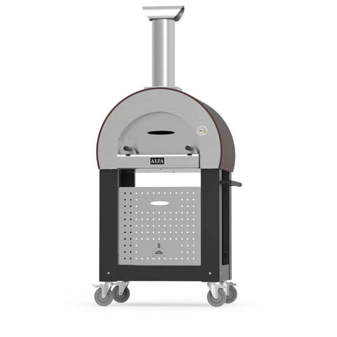 Image of Alfa 5 MINUTI Pizza Oven Base Black