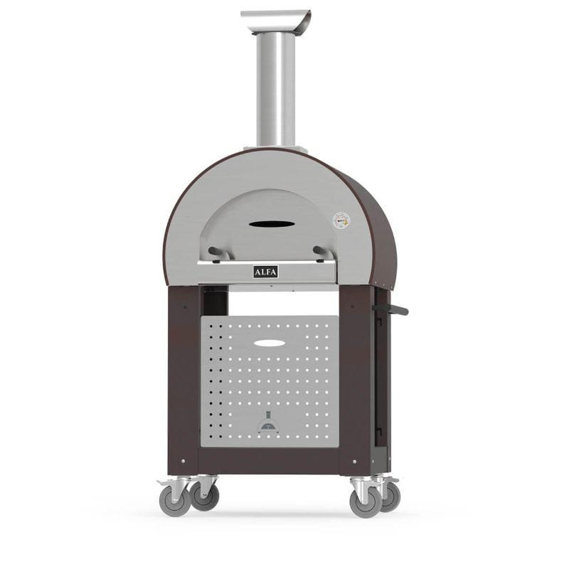 Alfa 5 MINUTI Pizza Oven Base Copper