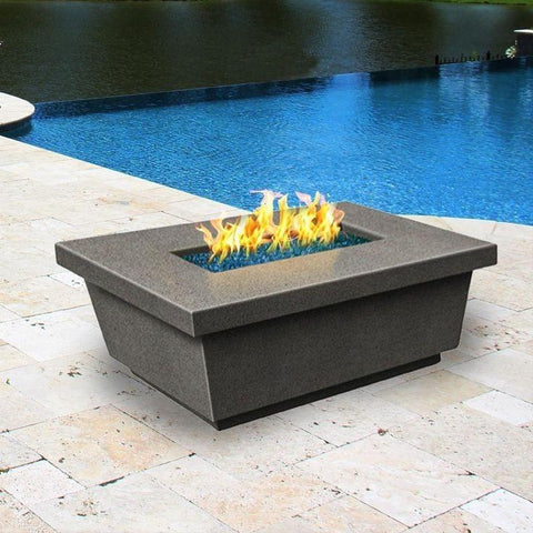 Fire Table: Contempo Rectangle By American Fyre Design