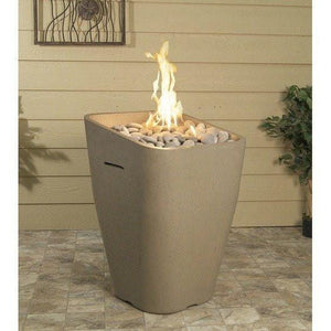 Crest Fire Urn By American Fyre Designs