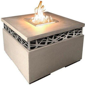 Fire Table: Square Nest By American Fyre Designs