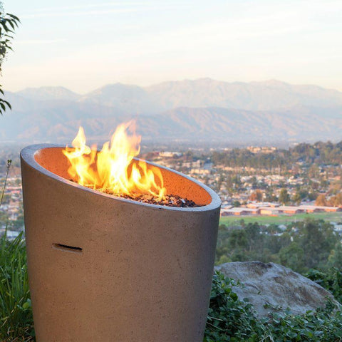 Eclipse Outdoor Fire Urns | American Fyre Designs | Best Gas Fire Urns