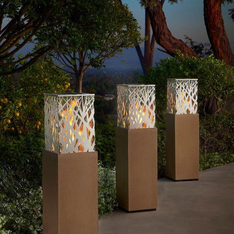 Image of Propane Patio Fire Pit | American Fyre Designs Nest Lantern