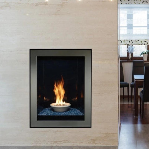 Empire Forest Hills Portrait-Style Contemporary Direct-Vent Fireplaces
