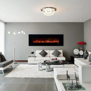 "Electric Fireplace Ambiance CLX 2 80""/100"" Recessed/Wall Mount"