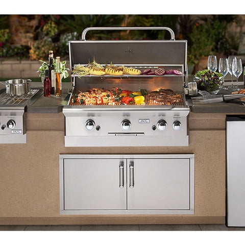AOG-DC790-CBR-108SM | AOG 790 9' Complete Grill Island System