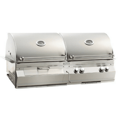 Image of Fire Magic Aurora Gas/Charcoal Combo Built-In Grill  A830i