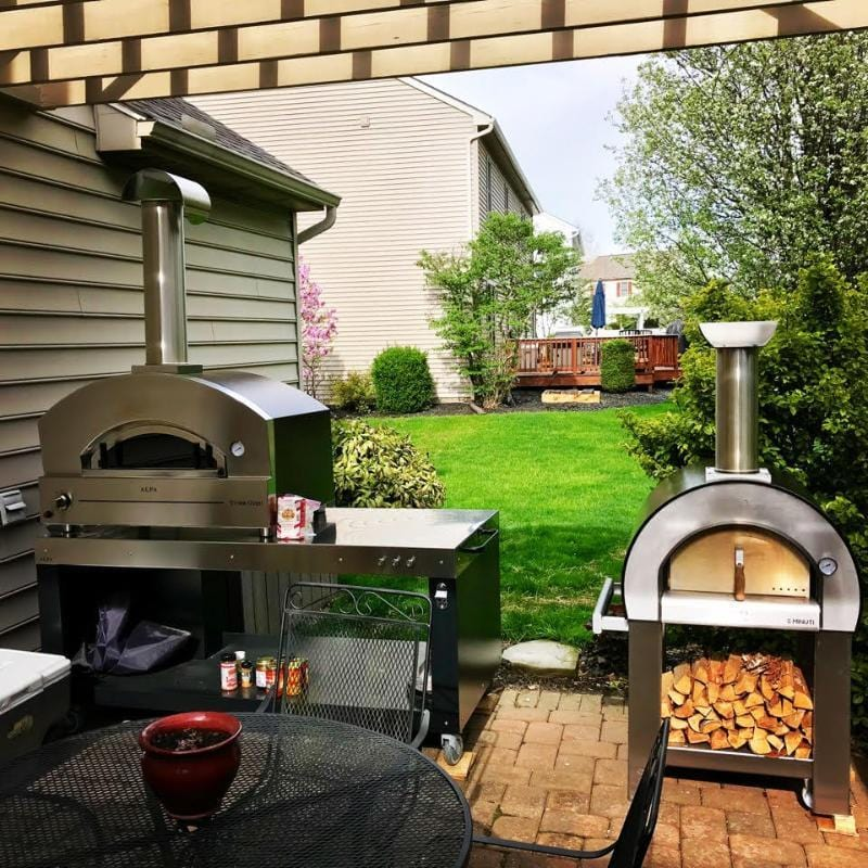 Stainless steel pizza ovens by Alfa Ovens