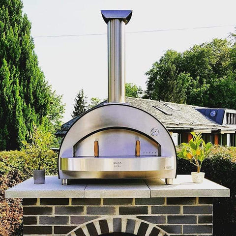 4 Pizze Countertop Pizza Oven by Alfa Ovens