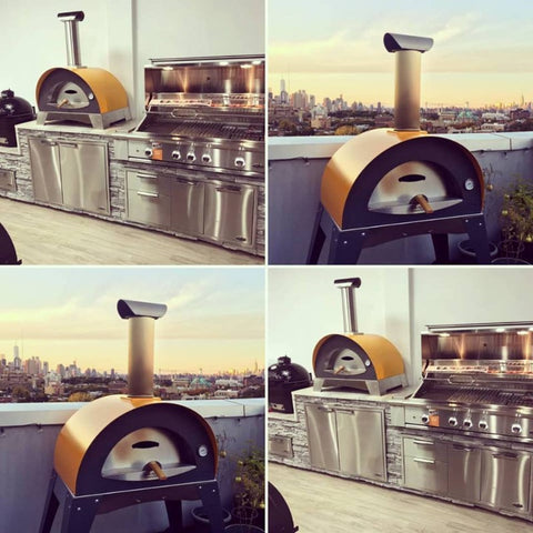 Image of Images of the Alfa Ciao Wood Fired Outdoor Pizza Oven