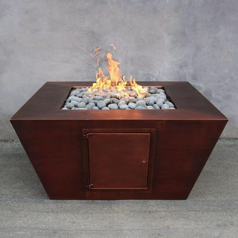 Amere Fire Pit - Hammered Finish