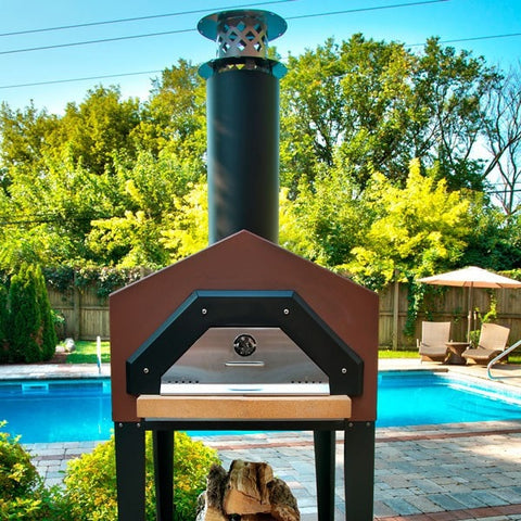 Chicago Brick Oven Americano Pizza Oven with Stand - Patio & Pizza - 1