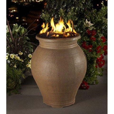 Amphora Fire Urn By American Fyre Designs