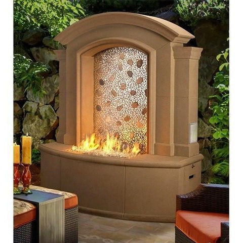 Image of American Fyre Designs Firefalls Outdoor Heating