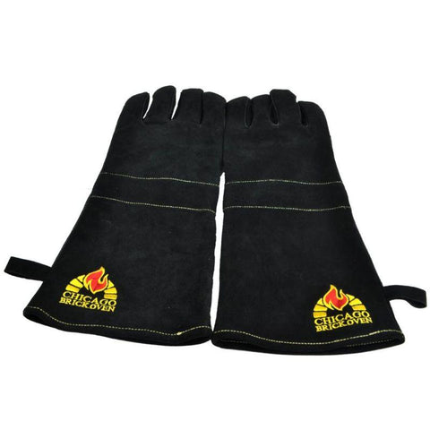 Image of Protective Oven Gloves Premium Leather and Kevlar Stitching