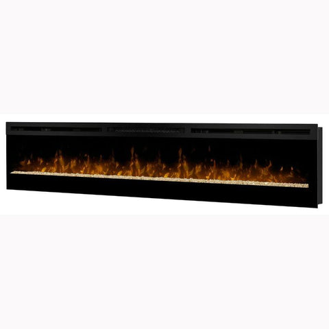 "Image of Dimplex Galveston 74"" Linear Electric Fireplace"