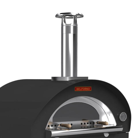 Black Outdoor Pizza Oven For Sale