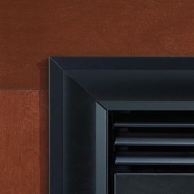 "Image of Empire Tahoe Deluxe Direct-Vent Fireplaces 36"" Extruded Aluminum Frames Frame and Bottom Trim Colors"