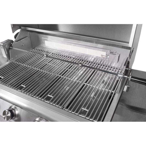 Blaze 32-Inch 4-Burner Grill With Blaze 32-Inch Grill Cart