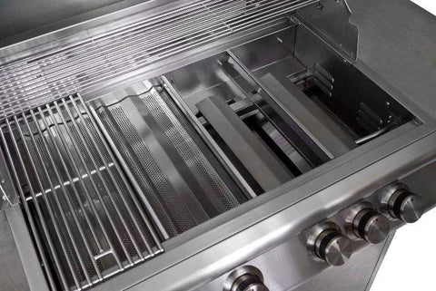 Blaze 40-Inch 5-Burner Grill With Blaze 40-Inch Grill Cart