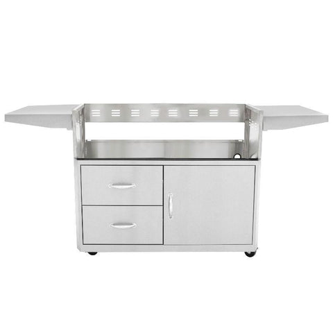 Blaze Professional 44-inch 4-Burner Built-In Gas Grill With Blaze Professional Grill Cart