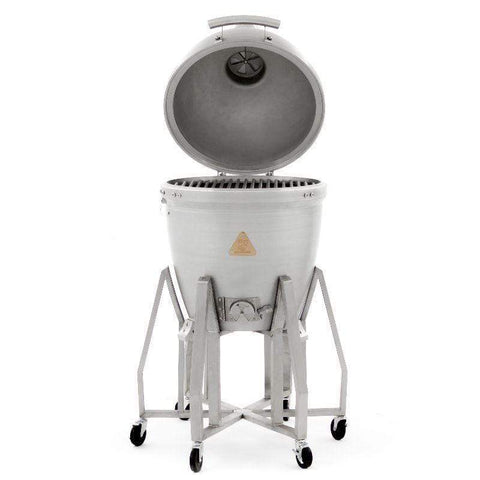 Image of Blaze 20-inch Cast Aluminum Kamado with Blaze Kamado Cart