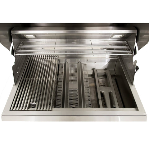Blaze Professional 34-Inch 3 Burner Built-In Gas Grill With Blaze Professional 34-Inch Grill Cart