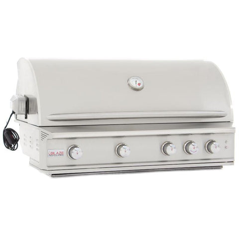 Image of Blaze Professional 44-Inch 4 Burner Built-In Gas Grill With Rear Infrared Burner