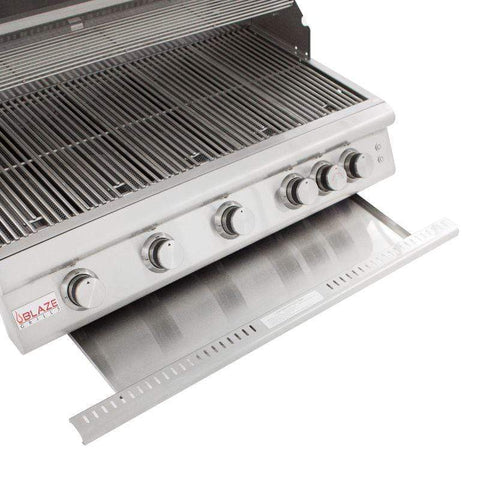 Blaze 40-inch 5-Burner LTE Gas Grill With Blaze 40-Inch Grill Cart