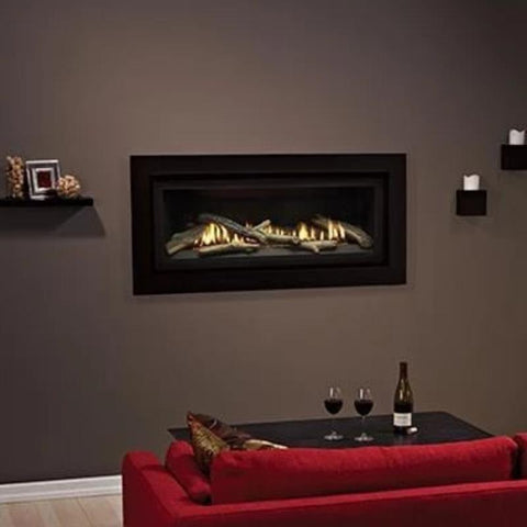 Empire Boulevard Linear Direct-Vent Fireplaces Traditional 41""