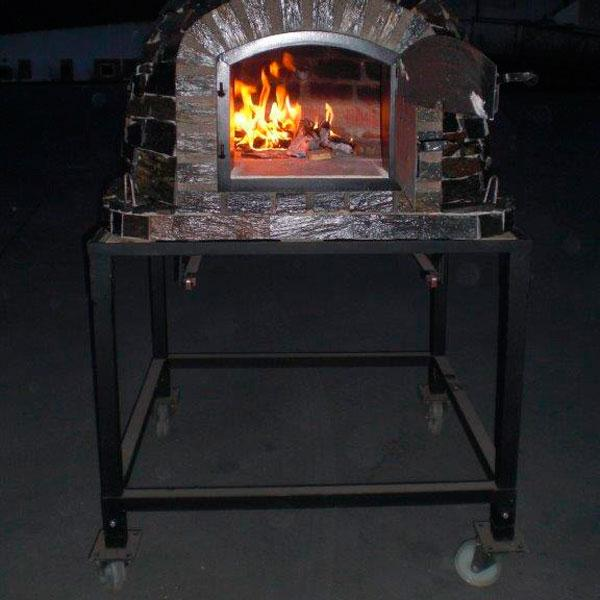 Authentic Pizza Ovens Brick Oven Cart Stand