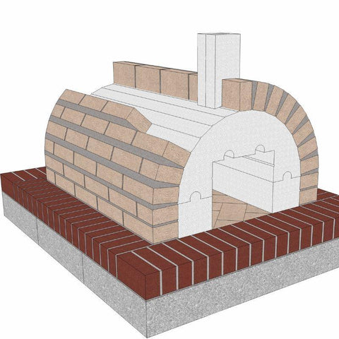 Image of Brickwood Pizza Oven Kit Mattone Barile Package 1