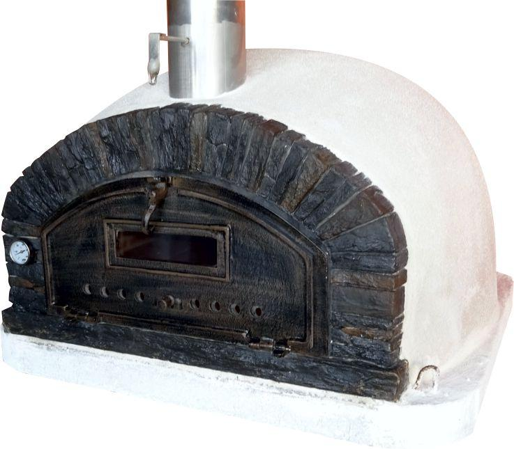 Brick Wood Fired Pizza Oven | Buena Ventura Black