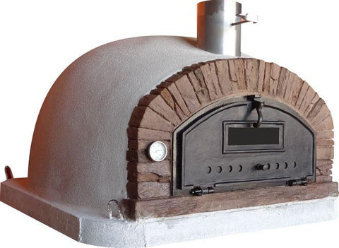 "Image of Buena Ventura ""Red"" PREMIUM Brick Wood Fired Pizza Oven"