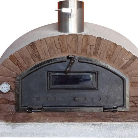 Image of Brick Pizza Oven | Buena Ventura Red
