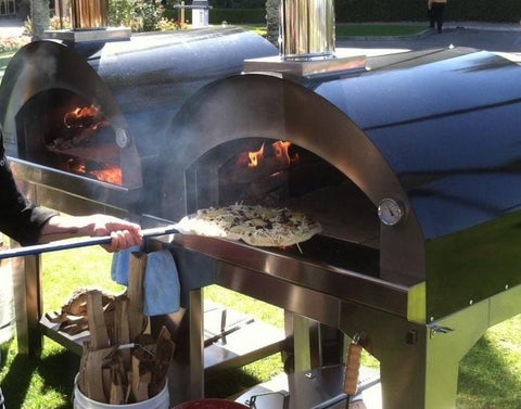 Image of Bull X-Large Outdoor Wood Fired Pizza Oven On Cart - 66042 - Patio & Pizza - 3