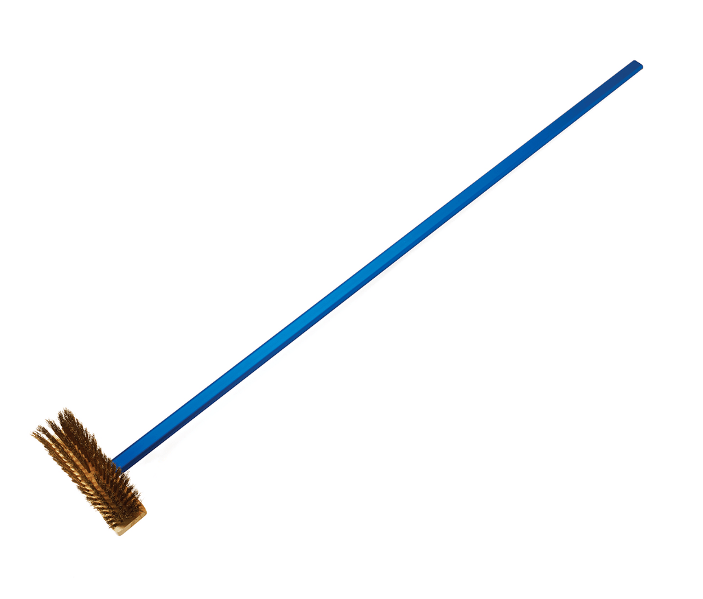 Bull Outdoor Products Professional Brass Bristle Brush (66028) - Patio & Pizza
