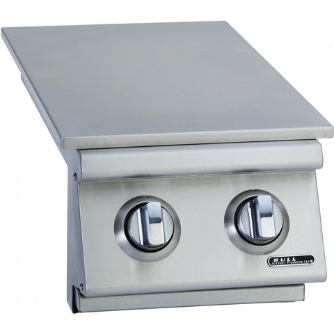 Bull Outdoor Products Double Side Burner (30009) Closed