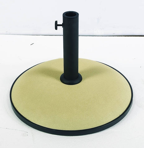 FiberBuilt Concrete Umbrella Base - Patio & Pizza - 3