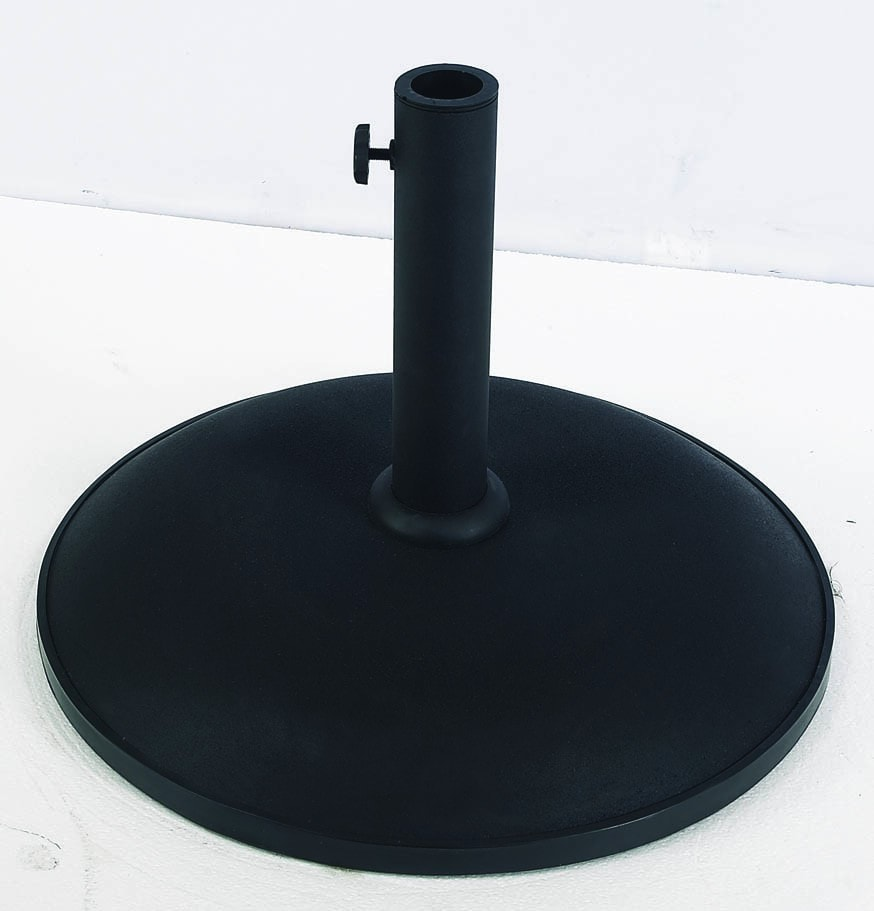 FiberBuilt Concrete Umbrella Base - Patio & Pizza - 4
