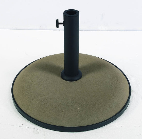 FiberBuilt Concrete Umbrella Base - Patio & Pizza - 1