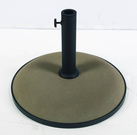 Image of FiberBuilt Concrete Umbrella Base - Patio & Pizza - 1
