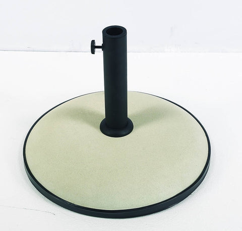 FiberBuilt Concrete Umbrella Base - Patio & Pizza - 2