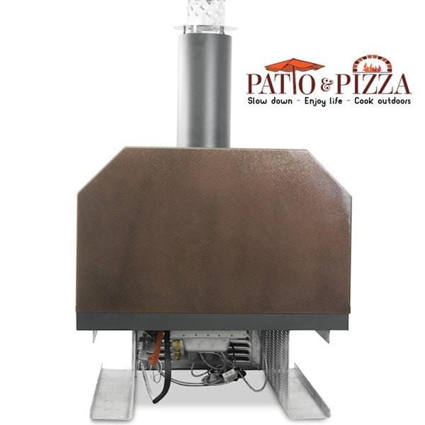 cbo750 countertop hybrid wood fired pizza oven - Countertop Pizza Oven