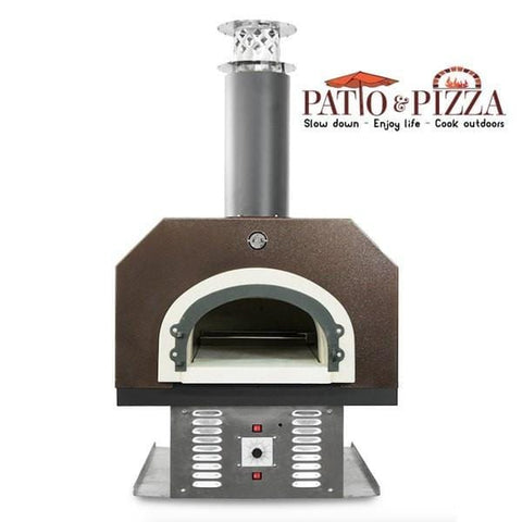 CBO-750 Countertop Hybrid Gas and Wood Burning Oven Copper