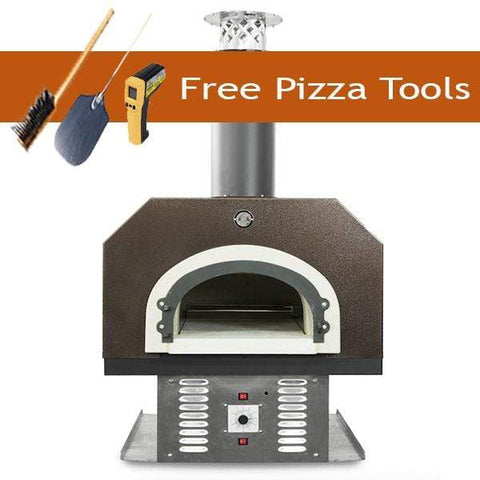 Image of Chicago Brick Oven 750 Gas and Wood Countertop Pizza Oven