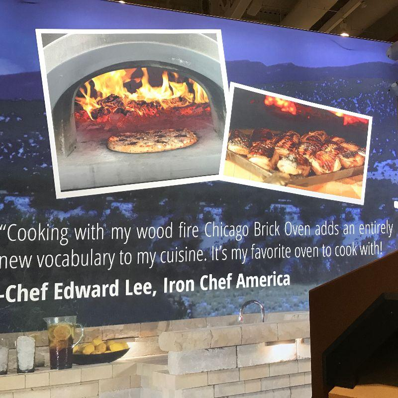 Chicago Brick Oven Chef Lee