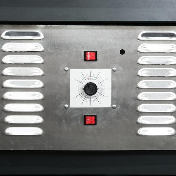 CBO-750 Hybrid Stand Gas Oven Controls
